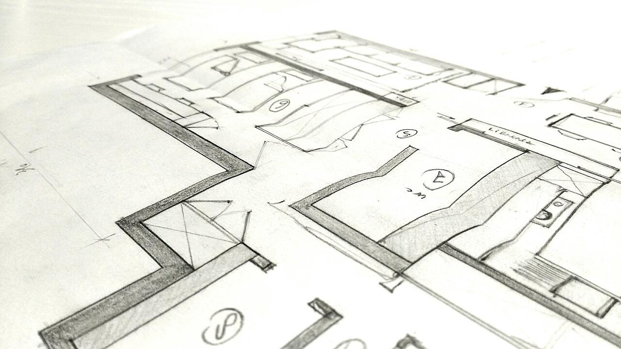 luca somaini interior design work in progress